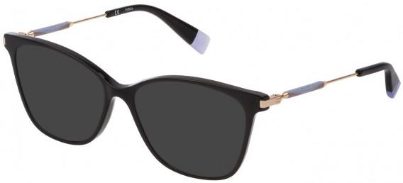 Furla VFU298 sunglasses in Shiny Black