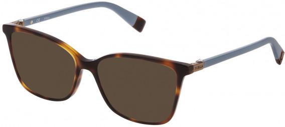 Furla VFU295S sunglasses in Shiny Dark Havana