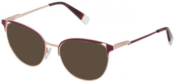 Furla VFU294 sunglasses in Shiny Gold Copper/Coloured