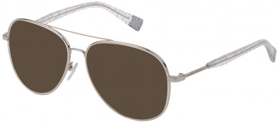 Furla VFU278 sunglasses in Shiny Full Palladium