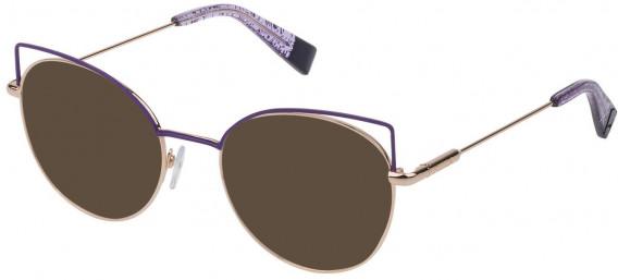 Furla VFU277 sunglasses in Shiny Rose Gold
