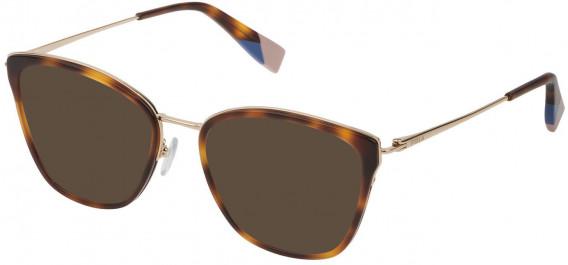 Furla VFU253 sunglasses in Shiny Dark Havana