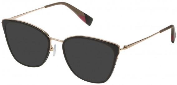 Furla VFU253 sunglasses in Shiny Black