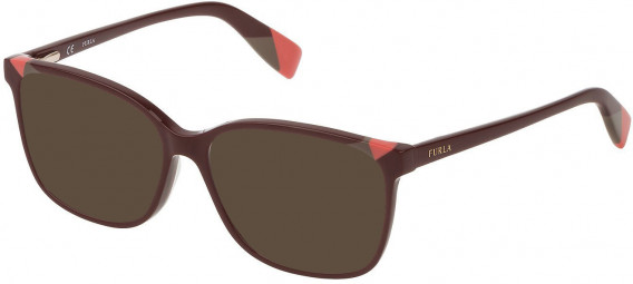 Furla VFU250 sunglasses in Shiny Full Plum
