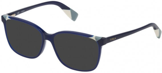 Furla VFU250 sunglasses in Shiny Opal Blue