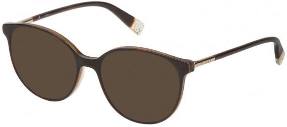 Furla VFU249 sunglasses in Shiny Havana With Glittery