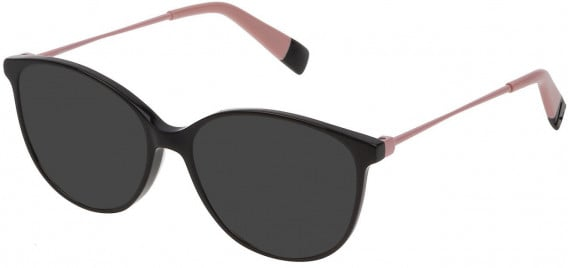 Furla VFU201 sunglasses in Shiny Black