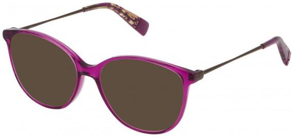 Furla VFU201 sunglasses in Shiny Trasparent Cyclamen