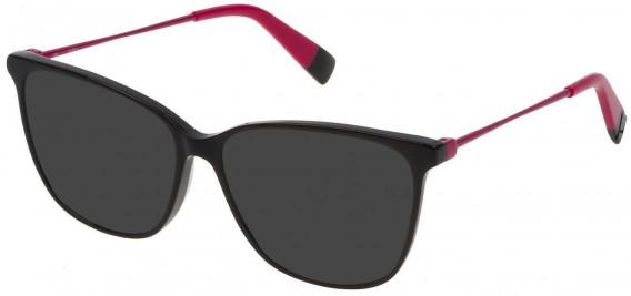Furla VFU200 sunglasses in Shiny Black
