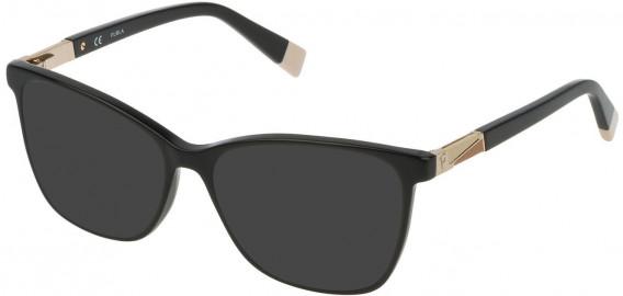Furla VFU190 sunglasses in Shiny Black