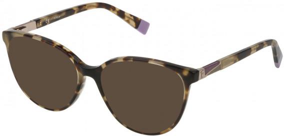 Furla VFU189 sunglasses in Dark Havana Spotted Brown
