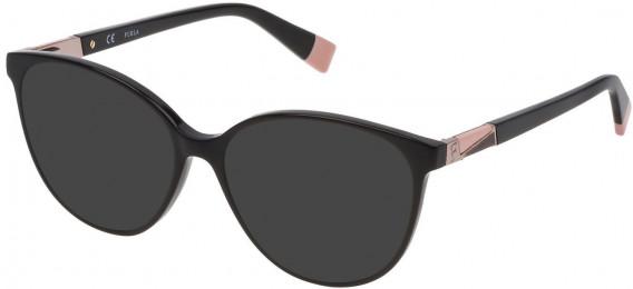 Furla VFU189 sunglasses in Shiny Black