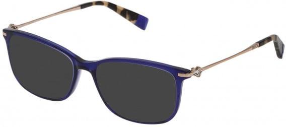 Furla VFU187S sunglasses in Transparent Blue