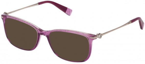 Furla VFU187S sunglasses in Shiny Raspberry/Silver