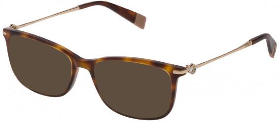 Furla VFU187S sunglasses in Shiny Dark Havana