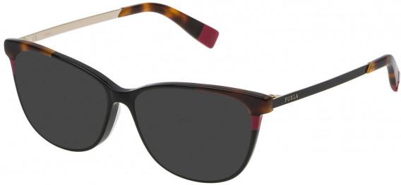 Furla VFU133 sunglasses in Shiny Black
