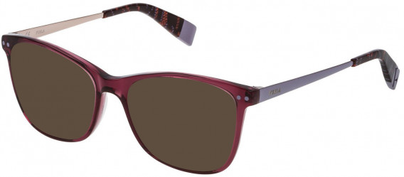 Furla VFU084 sunglasses in Shiny Transparent Marc