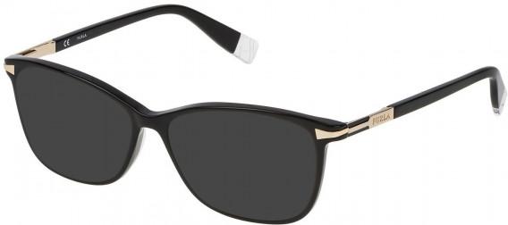 Furla VFU026 sunglasses in Shiny Black