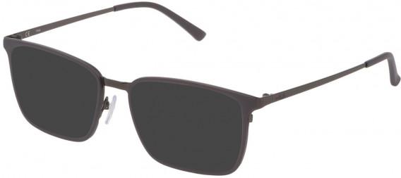 Fila VF9972 sunglasses in Matt Gun Metal