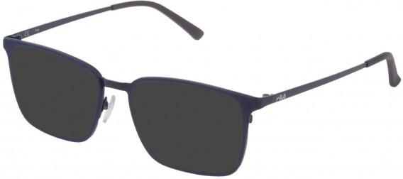 Fila VF9972 sunglasses in Matt Blue