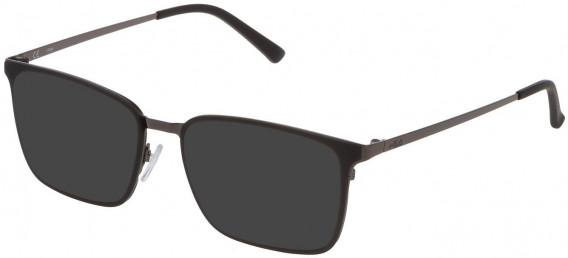 Fila VF9972 sunglasses in Shiny Gun