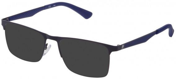 Fila VF9970 sunglasses in Matt Blue