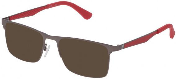 Fila VF9970 sunglasses in Matt Gun Metal