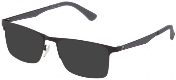 Fila VF9970 sunglasses in Semi Matt Black