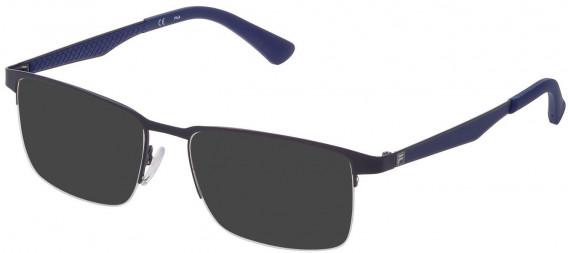 Fila VF9969 sunglasses in Matt Blue