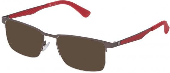 Fila VF9969 sunglasses in Matt Gun Metal