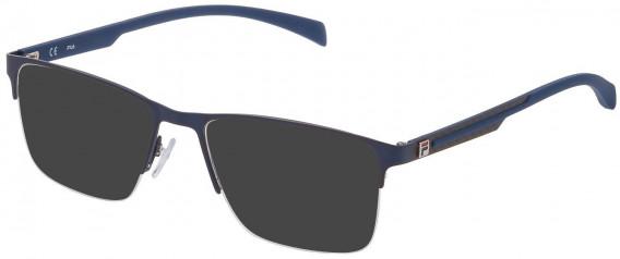 Fila VF9944 sunglasses in Matt Blue