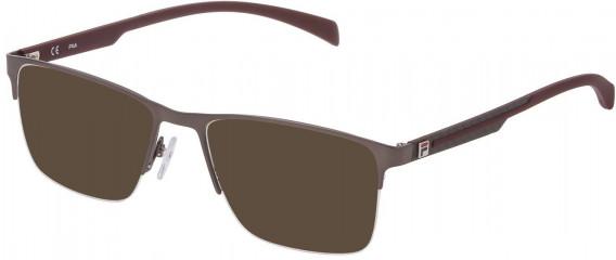 Fila VF9944 sunglasses in Matt Gun Metal