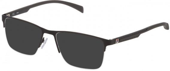 Fila VF9944 sunglasses in Semi Matt Black