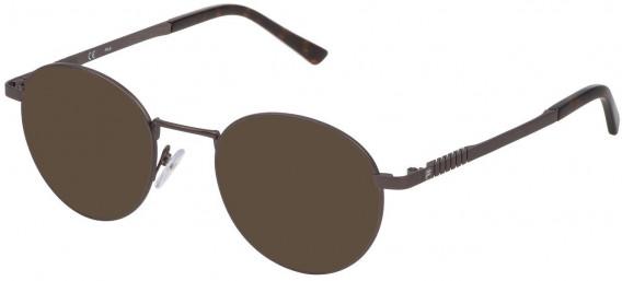 Fila VF9942 sunglasses in Matt Gun Metal