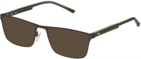 Fila VF9940 sunglasses in Matt Gun Metal