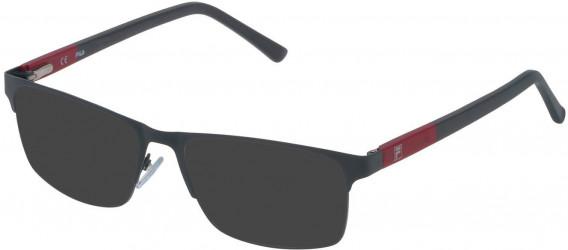 Fila VF9836 sunglasses in Matt Full Grey