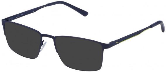Fila VF9805 sunglasses in Rubberized Blue
