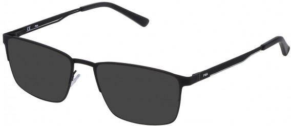 Fila VF9805 sunglasses in Ruberizzed Black