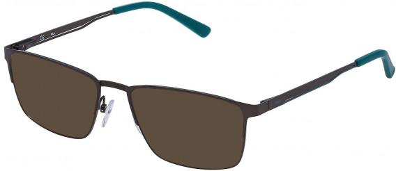 Fila VF9805 sunglasses in Matt Gun Metal