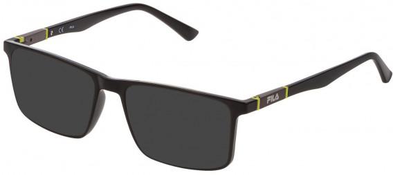 Fila VF9325 sunglasses in Shiny Black