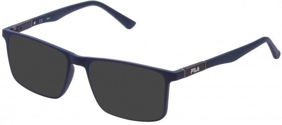 Fila VF9325 sunglasses in Matt Blue