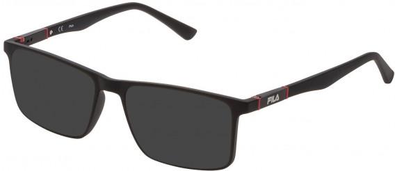 Fila VF9325 sunglasses in Matt Black