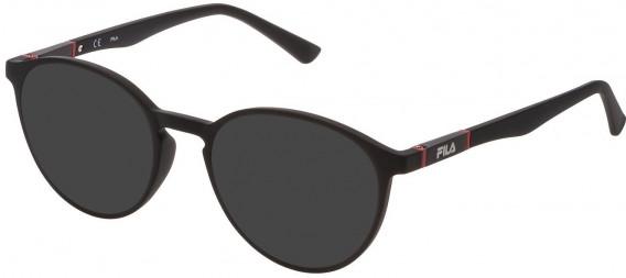 Fila VF9324 sunglasses in Matt Black