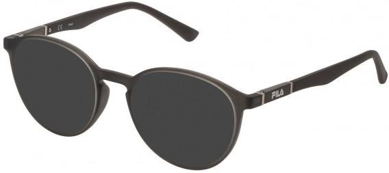 Fila VF9324 sunglasses in Matt Transparent Kaki