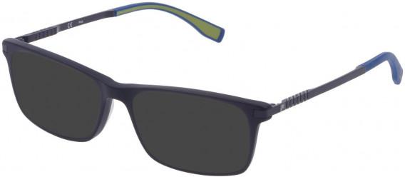Fila VF9323 sunglasses in Matt Full Blue