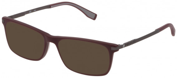 Fila VF9323 sunglasses in Full Matt Bordeaux