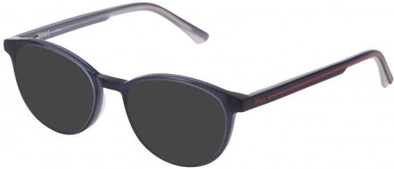 Fila VF9322 sunglasses in Shiny Night Blue