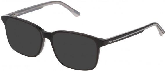 Fila VF9321 sunglasses in Shiny Black
