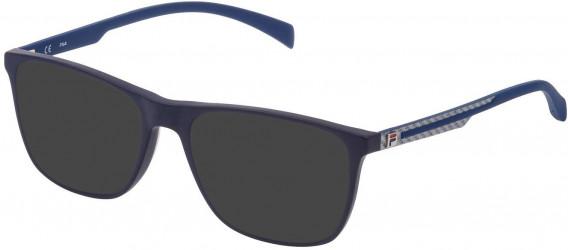 Fila VF9279 sunglasses in Matt Full Blue
