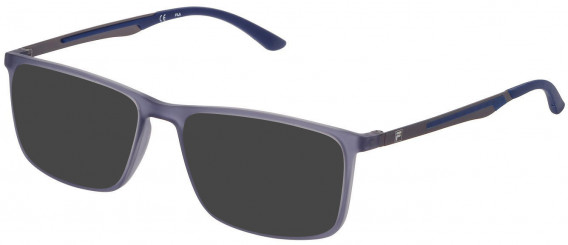 Fila VF9278 sunglasses in Transparent Grey